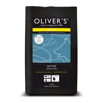 Olivers Active Grain Free